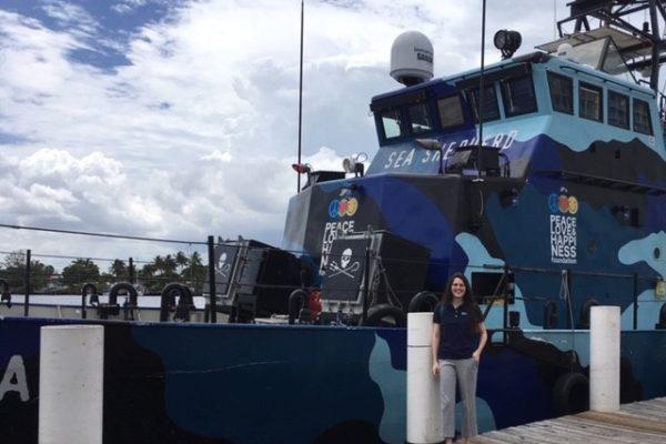 Sea Shepherd's M/V John Paul DeJoria